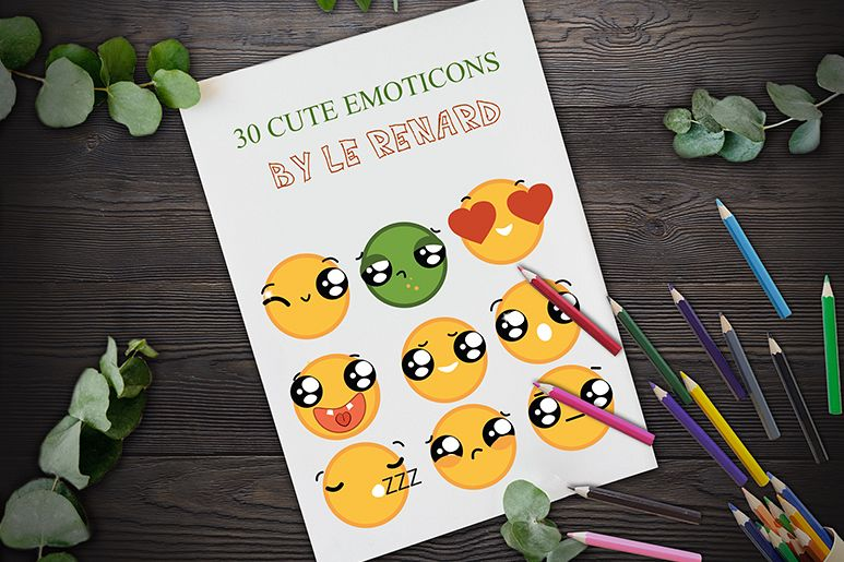 Cute Emoticons example image 1