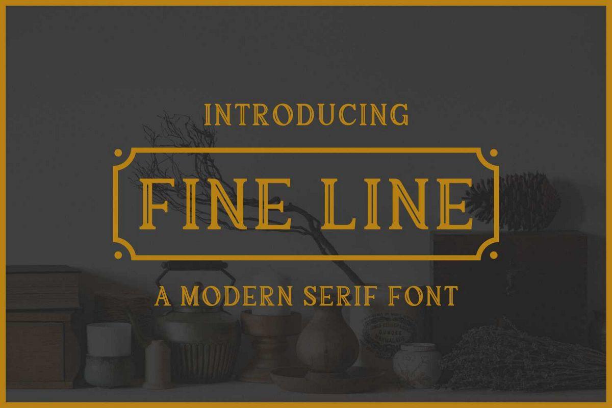 Fine Line example image 1