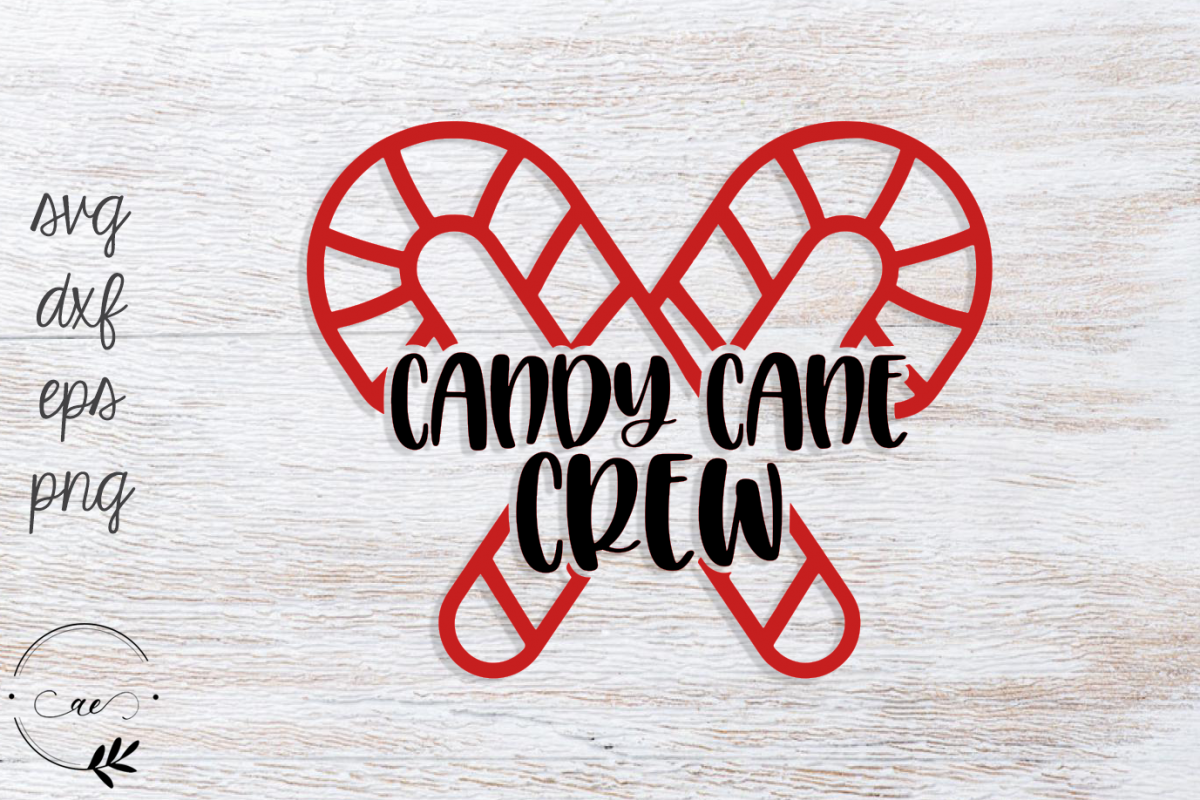 Candy Cane Crew SVG example image 1