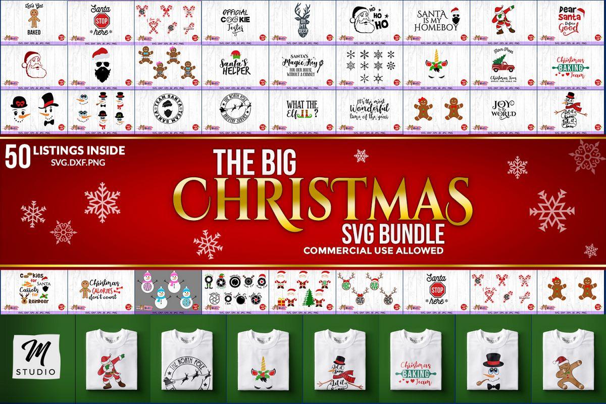 Image result for the big christmas svg bundle
