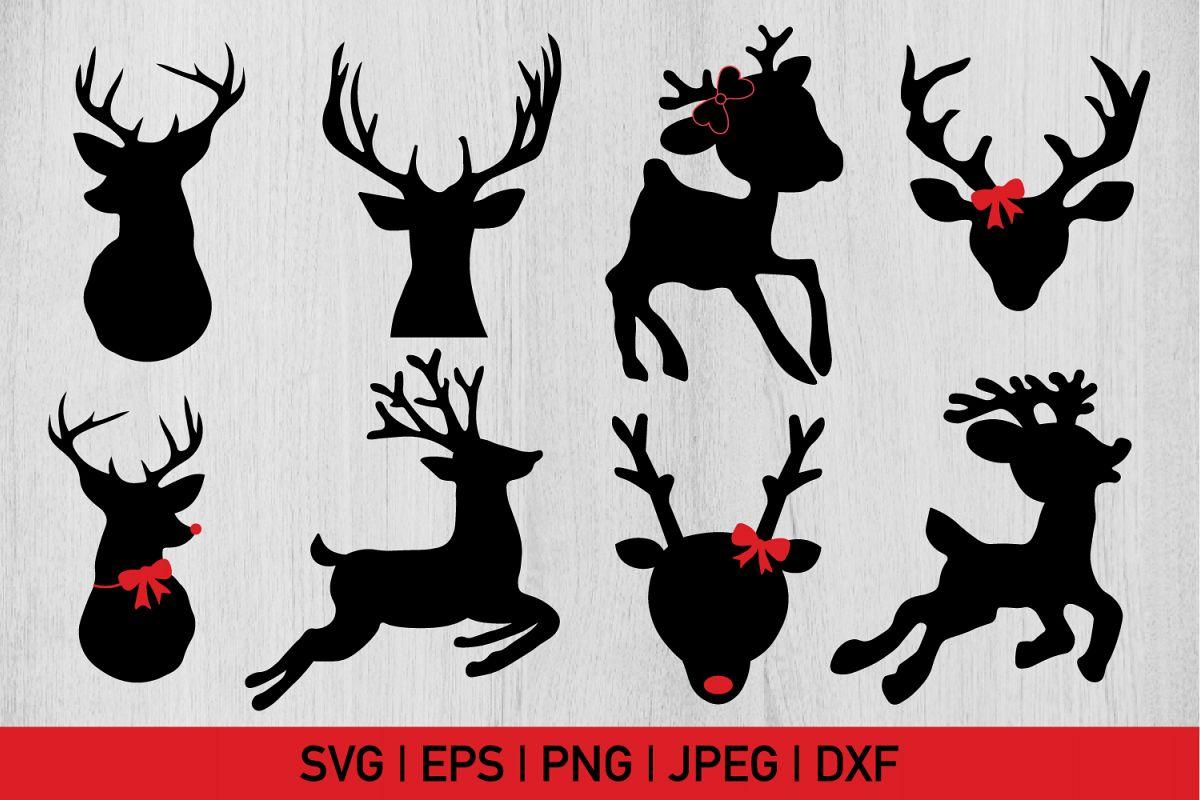 Christmas Reindeer.Christmas Reindeer Bundle