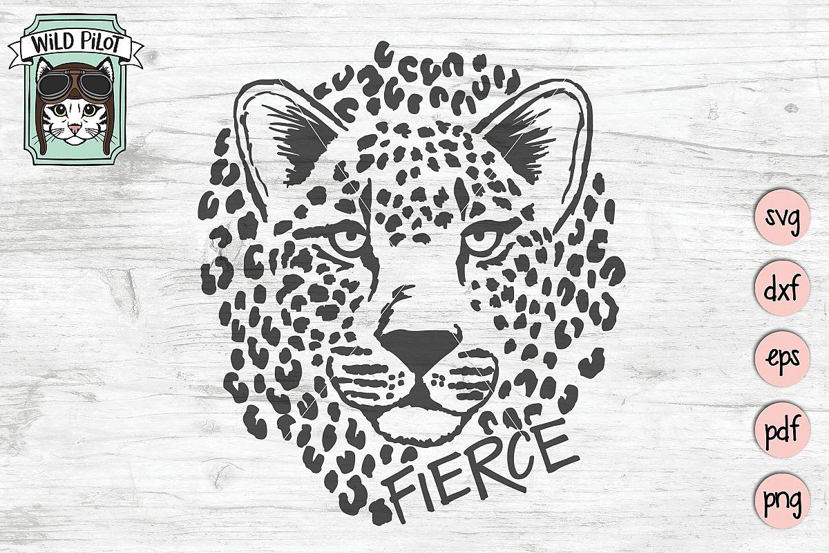 Leopard SVG file, Leopard Cut File, Cat, Cheetah, Jaquar