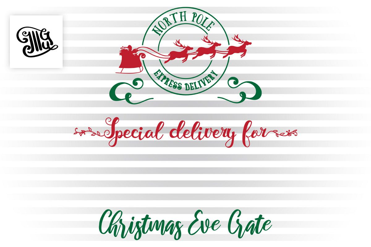 Christmas Eve Crate design example image 1
