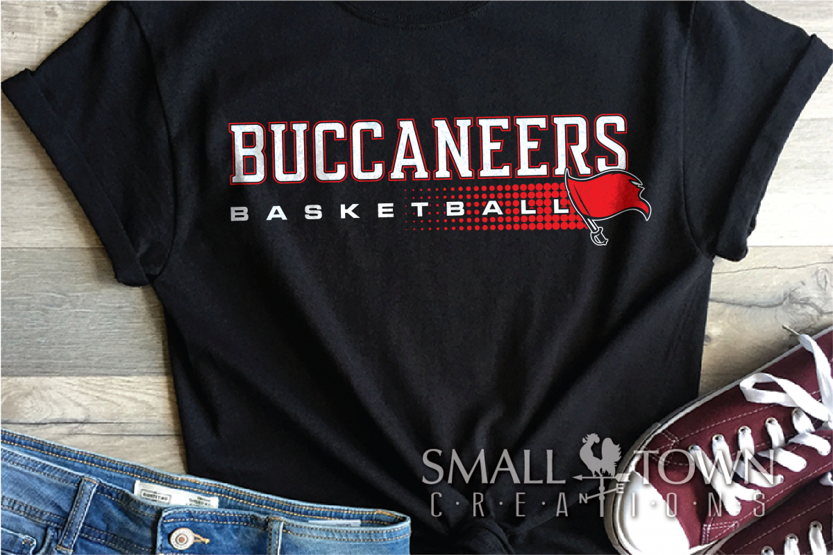 Buccaneer, Basketball, Team, Sport, PRINT, CUT & DESIGN example image 1