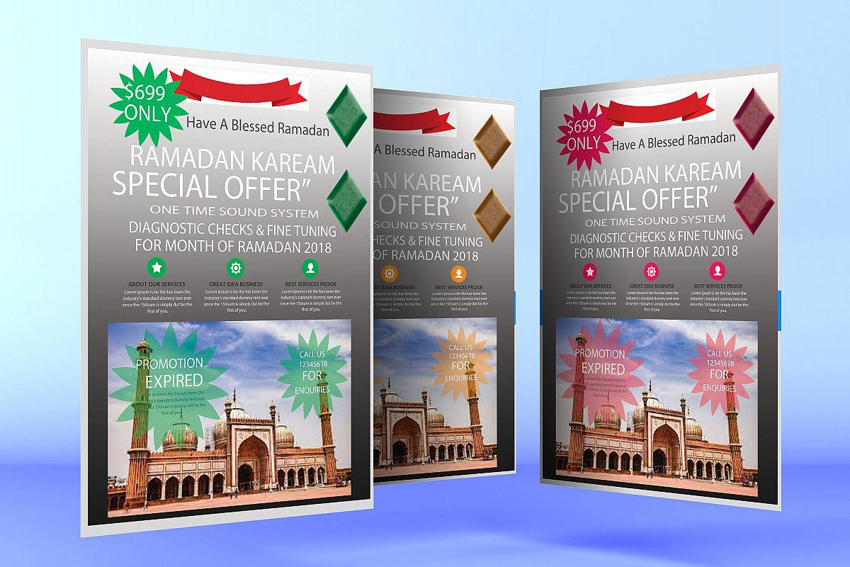 Ramadan kareem Flyer example image 1