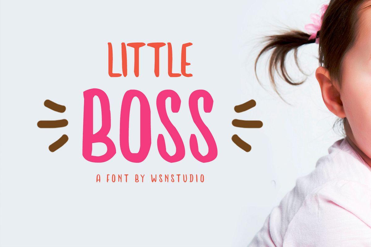 Little Boss example image 1