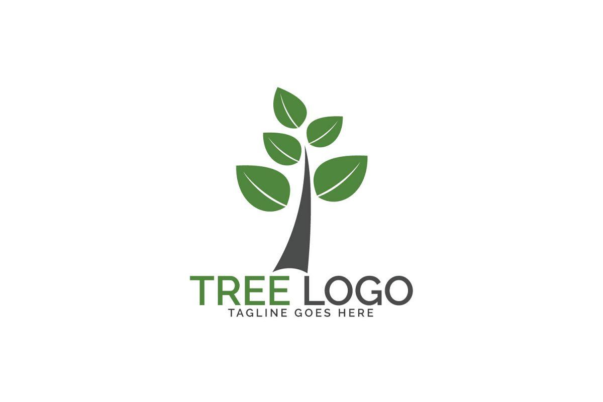 Green tree logo design. example image 1