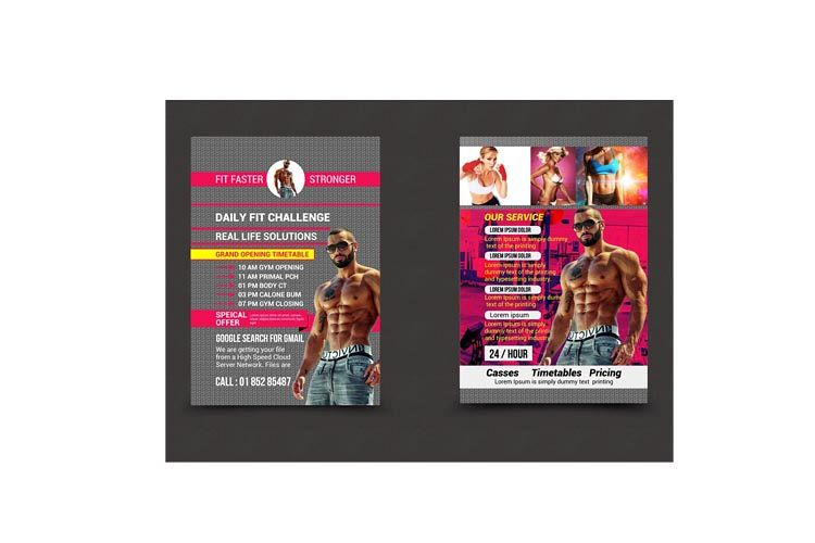 Fitnees Flyer example image 1