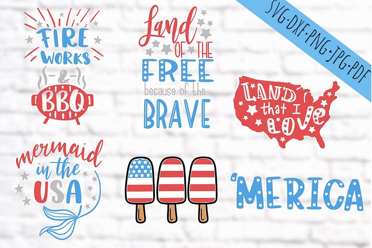 Fourth of july svg bundle, 4th of july svg bundle, Patriotic