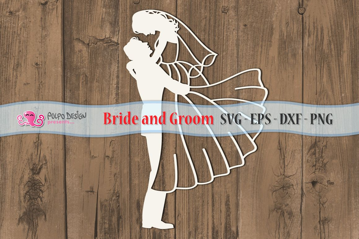 Bride and Groom SVG example image 1