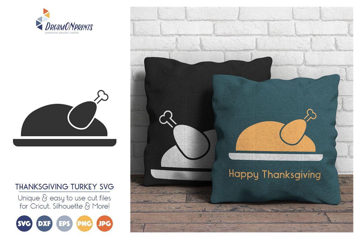 680132d8 Turkey SVG Cut Files - Thanksgiving SVG   Design Bundles