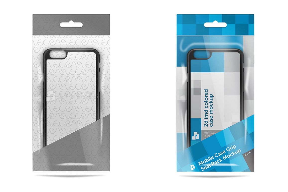 Mobile Case Plastic Retail Package Mockup example image 1