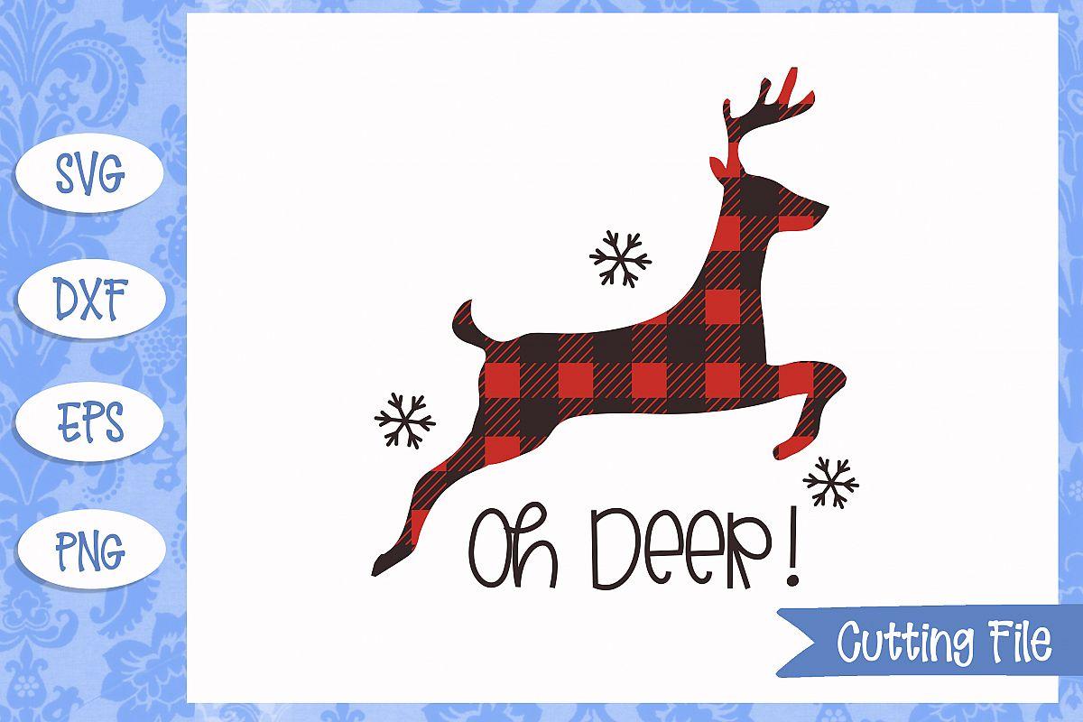 Oh Deer Cut File example image 1