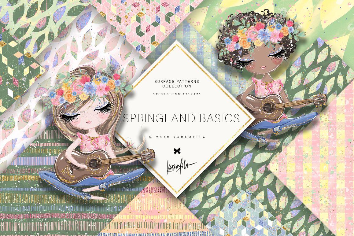 Karamfila's Springland Basic Patterns example image 1