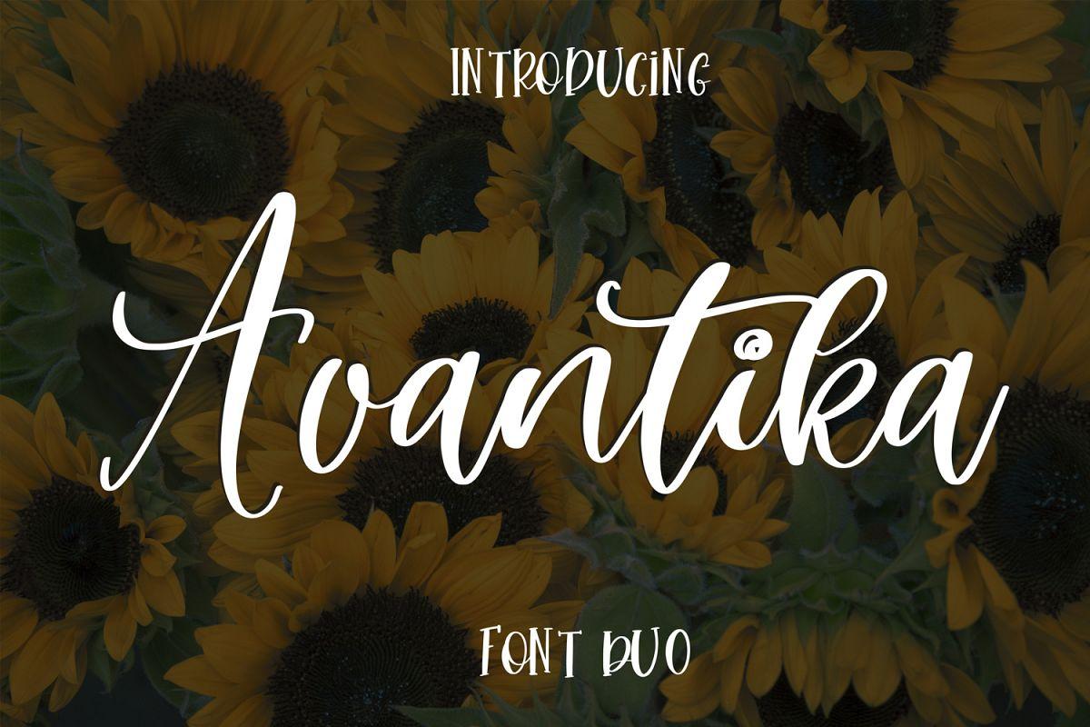 Avantika Font Duo example image 1