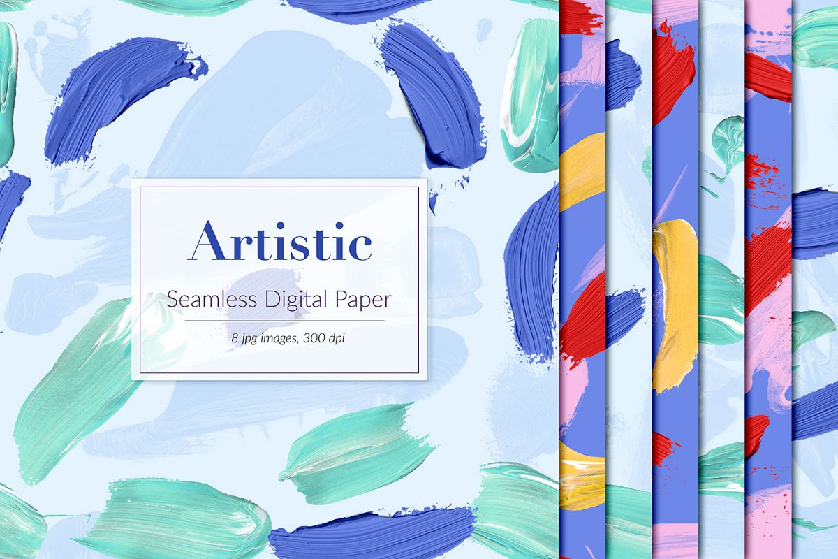 Artistic Seamless Patterns example image 1
