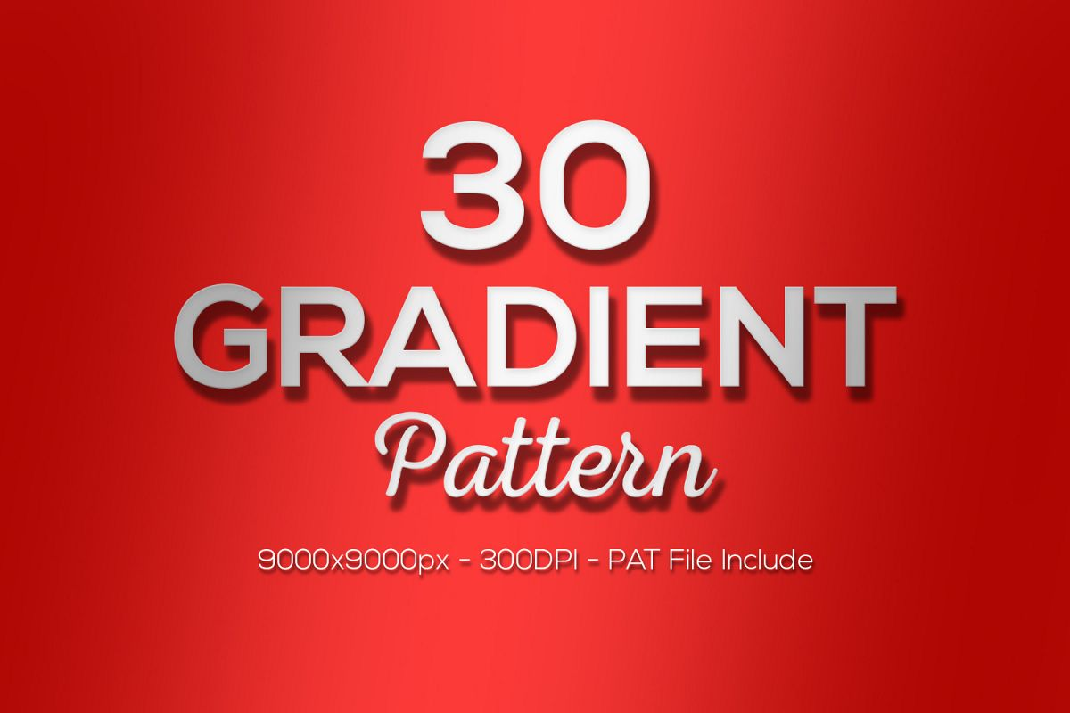 Gradient Pattern Pack example image 1