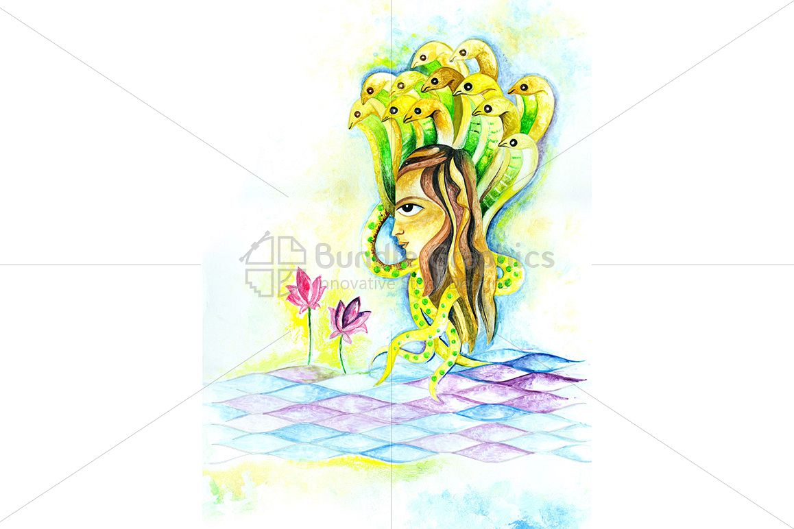 Hindu Lord Shiva - Illustration example image 1