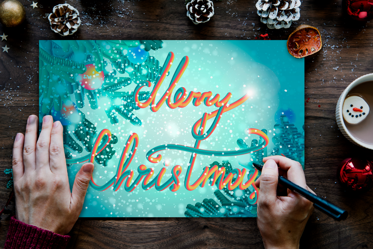 Merry Christmas Greeting example image 1