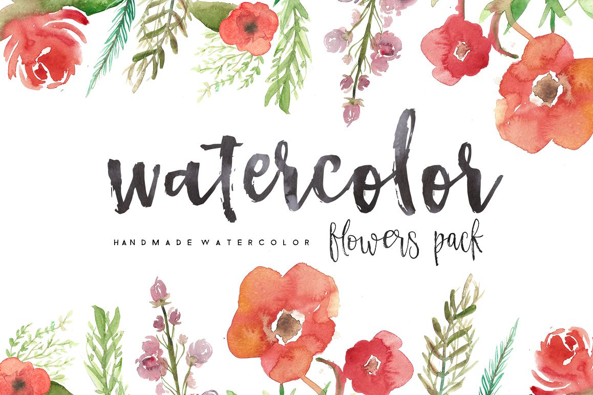 Watercolor 2 PAck example image 1