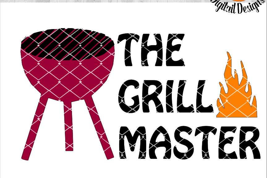 The Grill Master SVG - png - eps - dxf - ai - fcm - Camping SVG -  Silhouette - Cricut - Scan N Cut - BBQ SVG - Backyard SVG