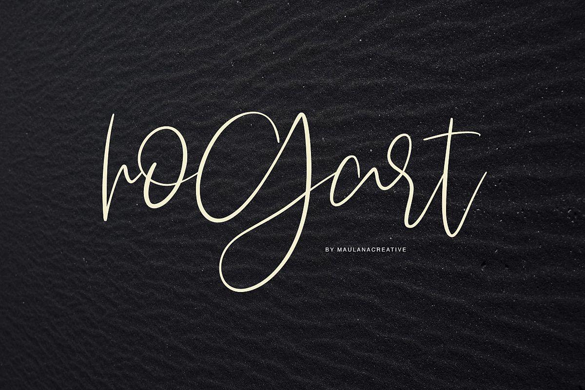 Hogart Script example image 1