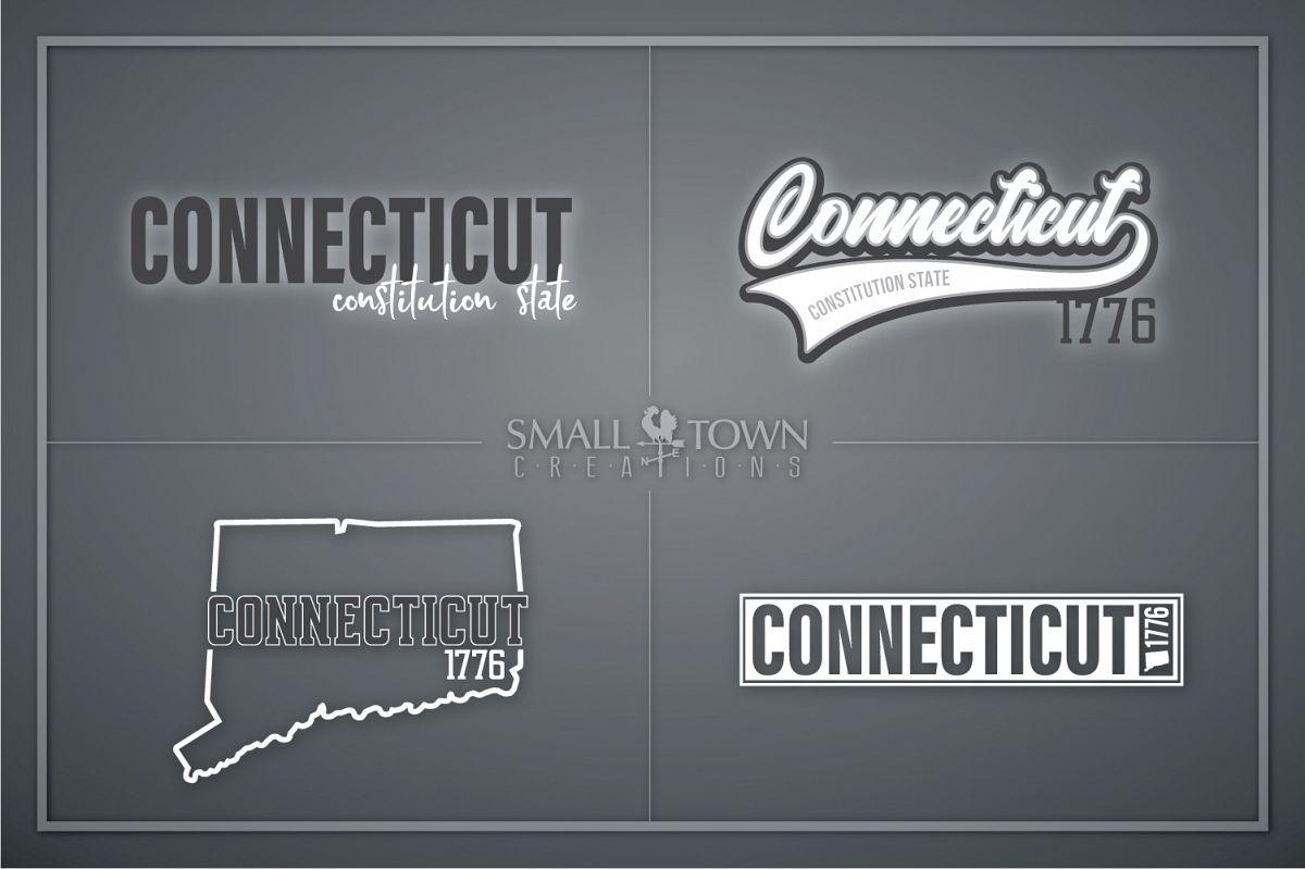 Connecticut, Constitution State slogan, PRINT, CUT & DESIGN example image 1