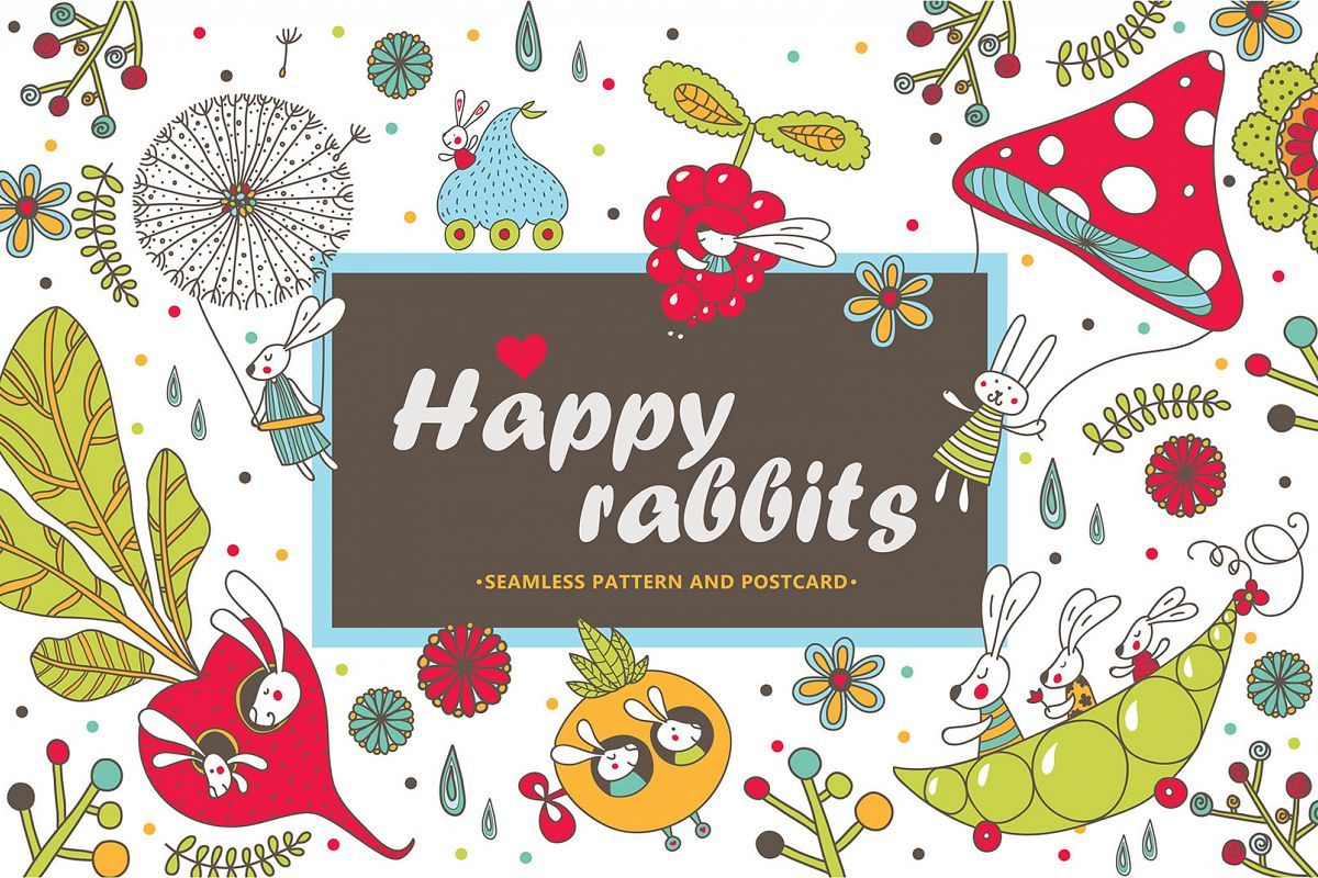 Happy rabbits! example image 1