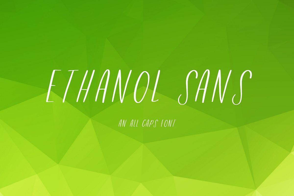 Ethanol Sans example image 1