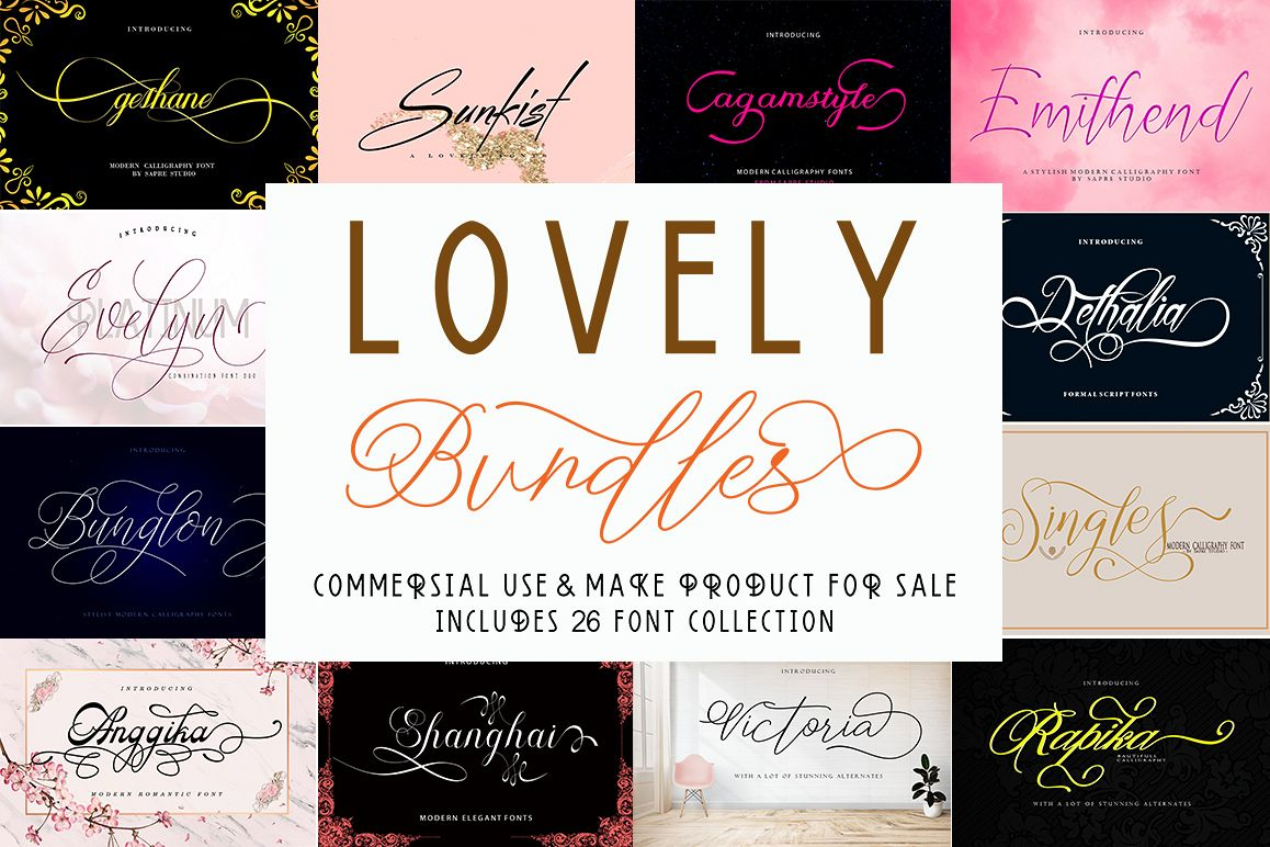 LOVELY Bundles example image 1