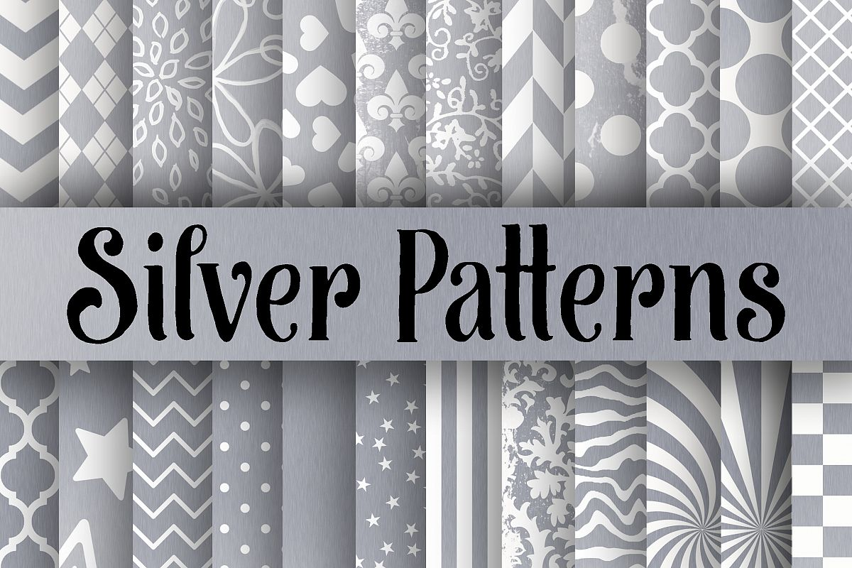 Silver Patterns Amazing Design Inspiration