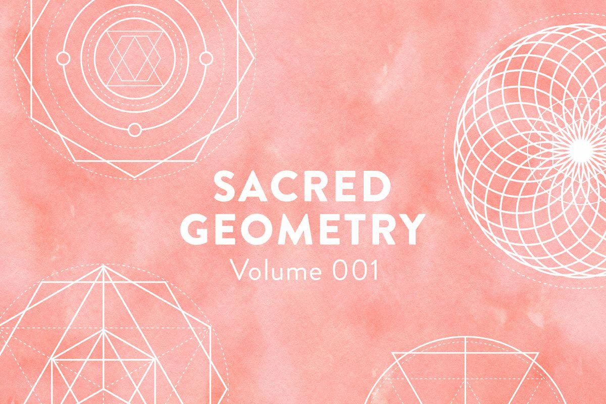 Sacred Geometry Vectors Volume 001 example image 1