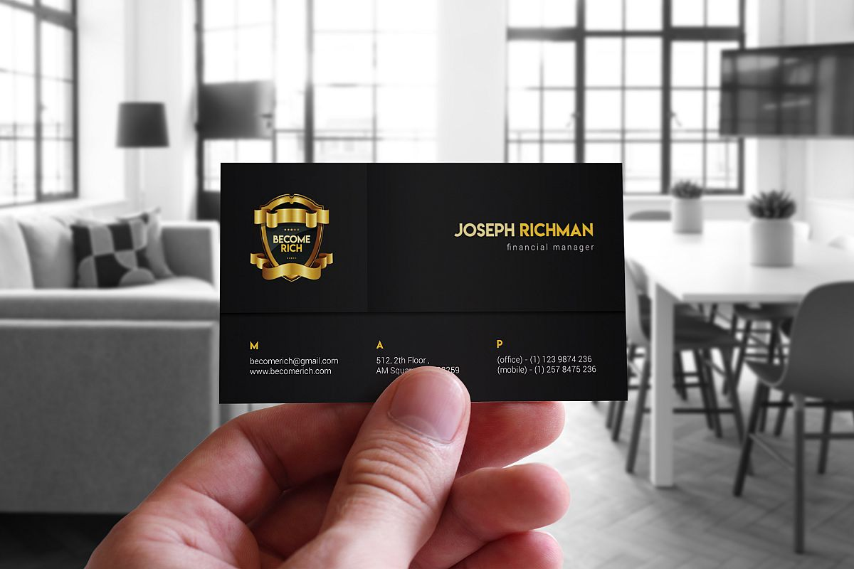 Luxury Business Card example image 1