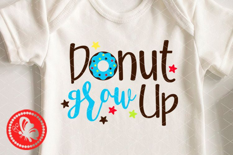 Donut grou up svg clipart 1st Birthday boy shirt png Cookie example image 1