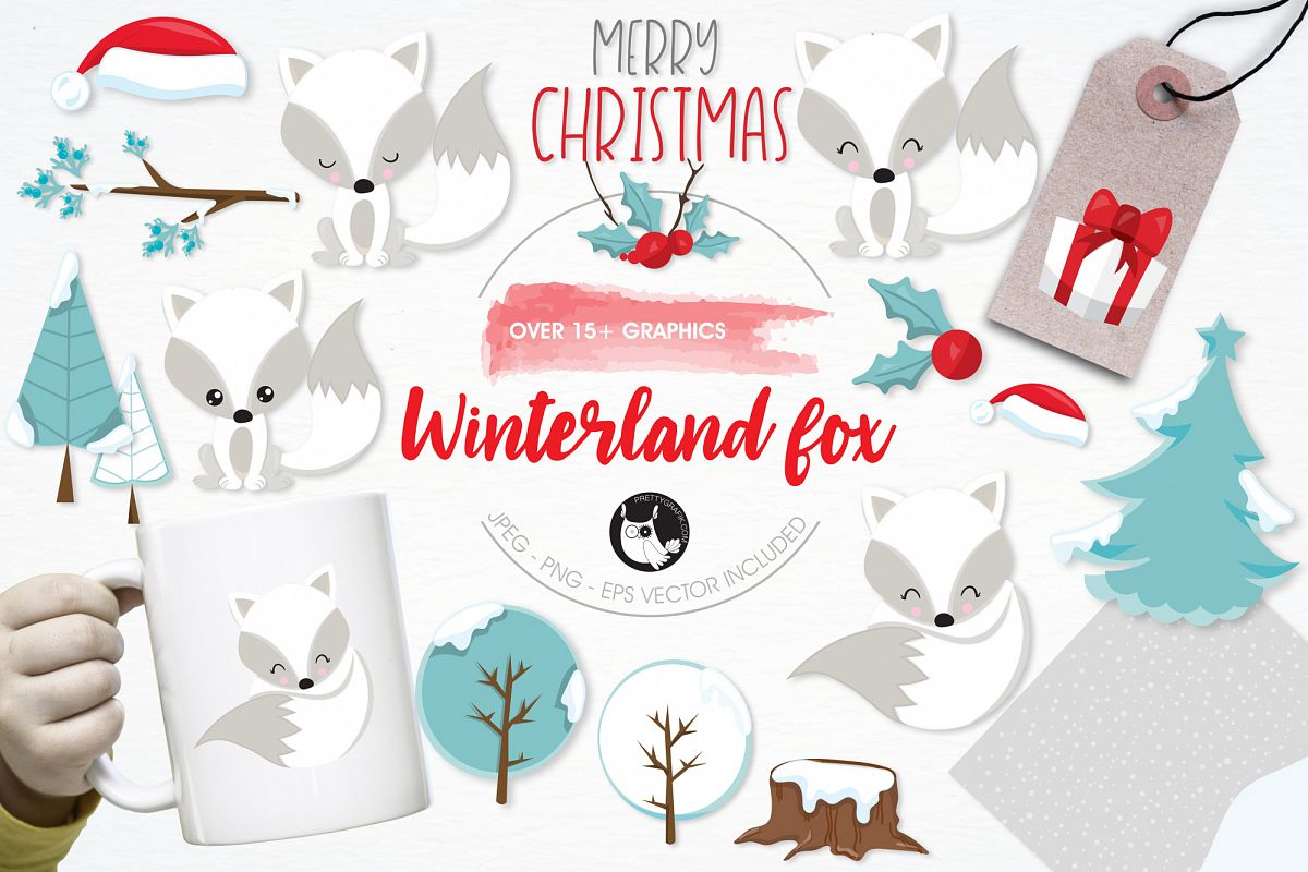 Winterland Fox graphics and illustrations example image