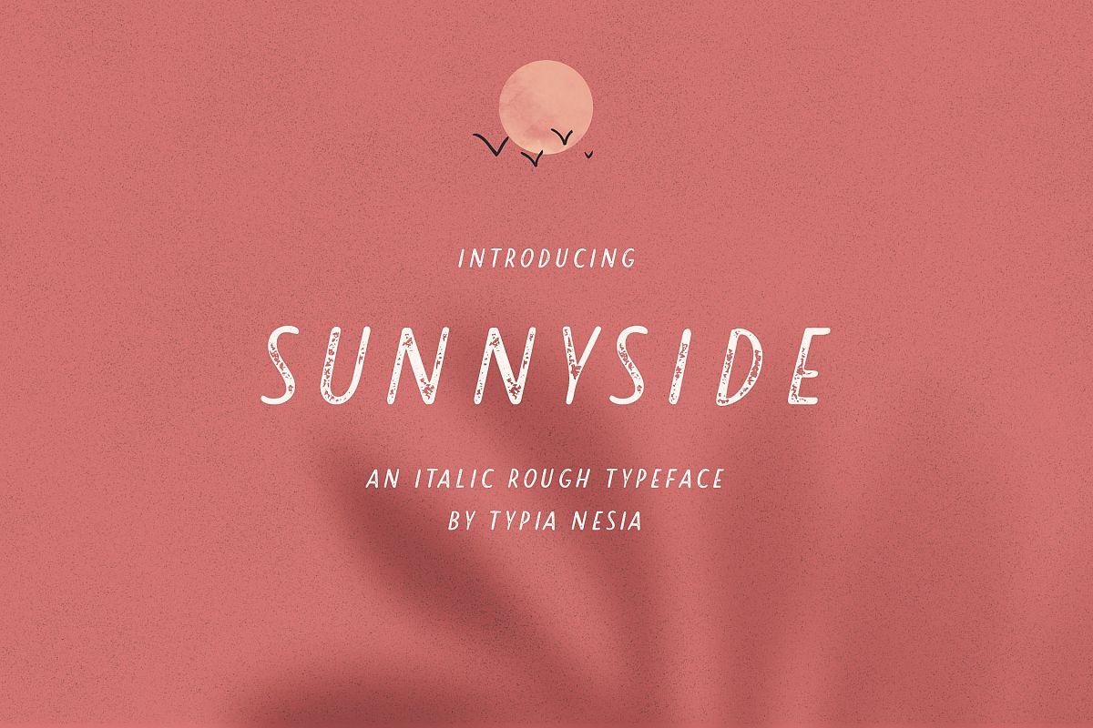Sunnyside Sans example image 1