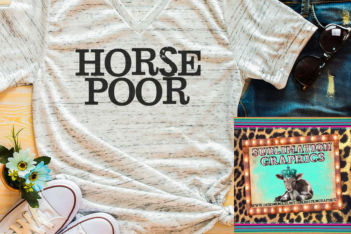 Horse Poor Sublimation Download example image 1