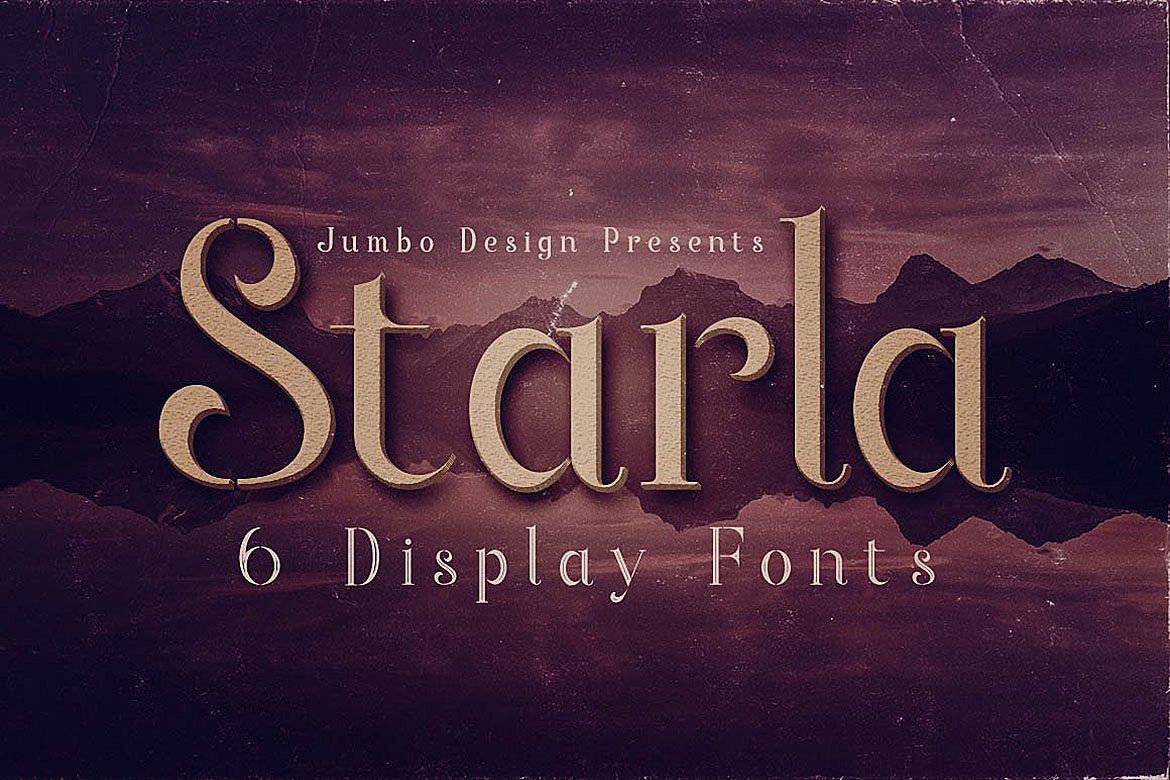 Starla - Display Font example image 1