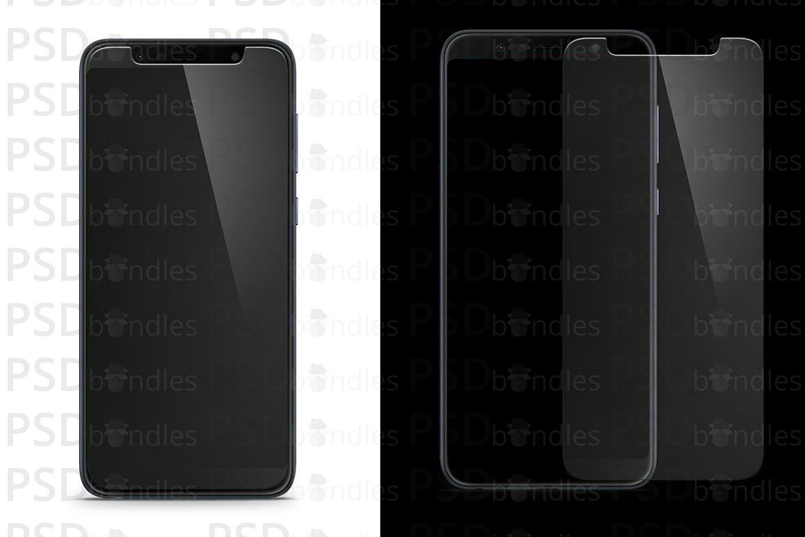Asus Zenfone Max Pro M1 Tempered Glass Template example image 1