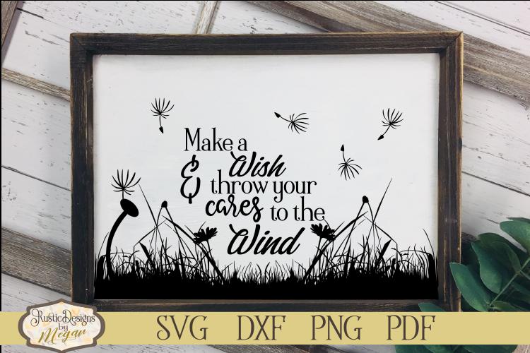 Make A Wish Inspirational SVG cut file example image 1