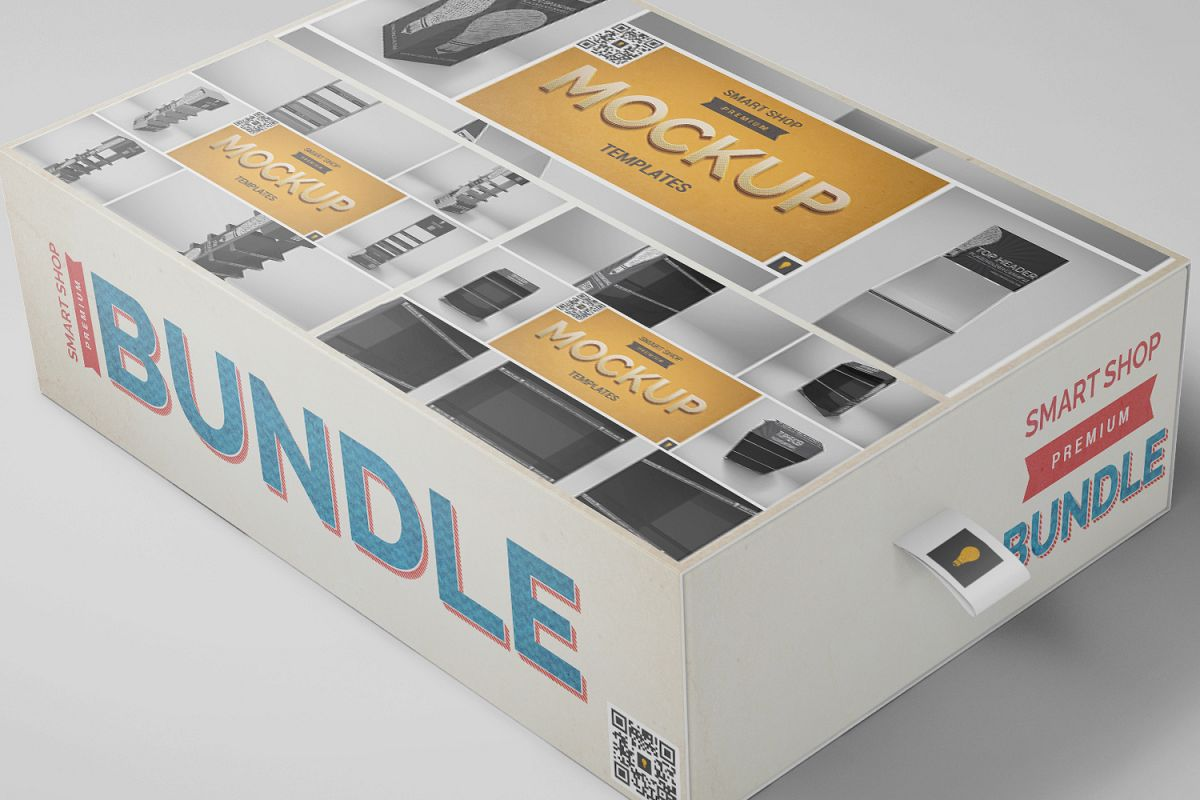 Stand Mockup Bundle 40% SAVINGS example image 1