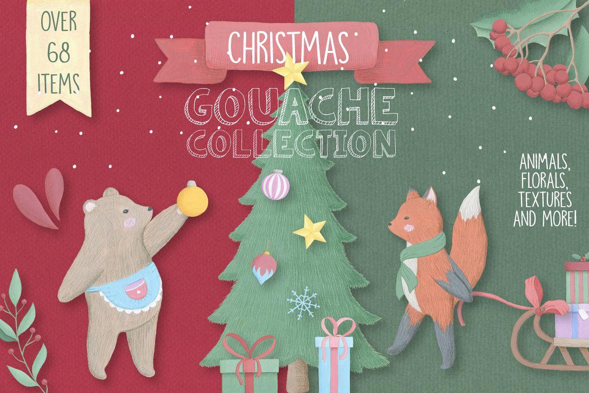 Christmas Gouache Collection example image 1