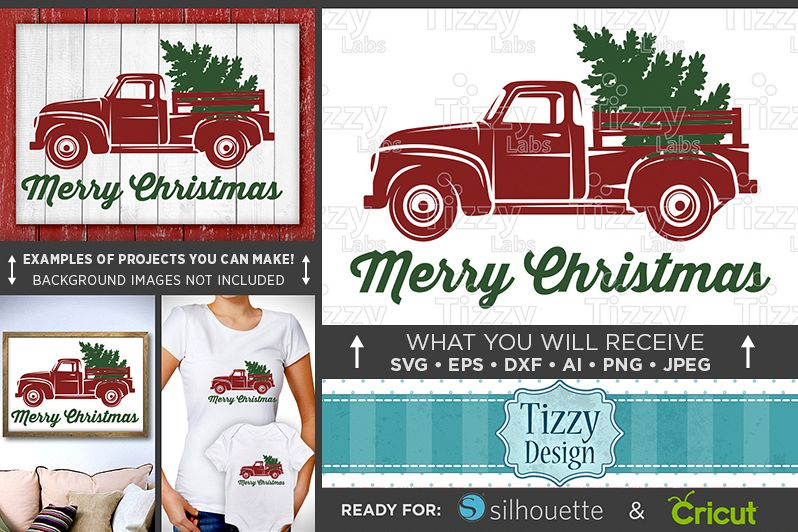 Christmas Red Truck.Merry Christmas Red Truck Svg Red Truck Christmas Tree Truck Svg Red Truck Christmas Svg Merry Christmas Tree Svg 077