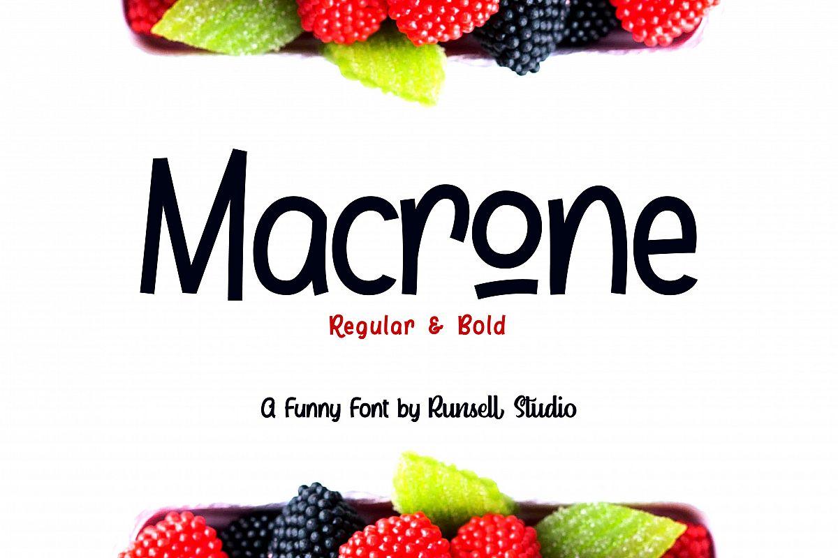 Macrone example image 1