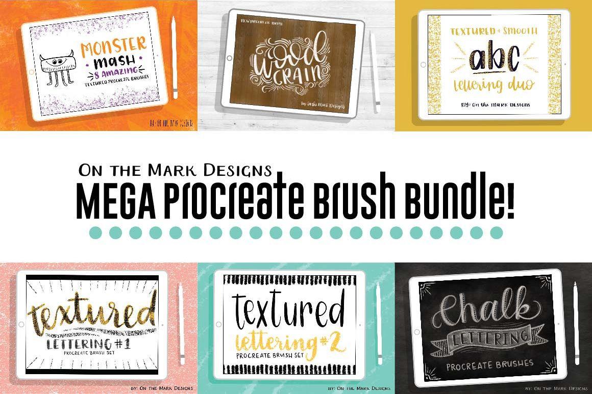 Mega Procreate Brush Bundle! example image 1