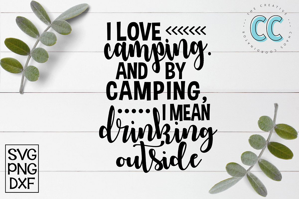 Camping and Drinking example image 1