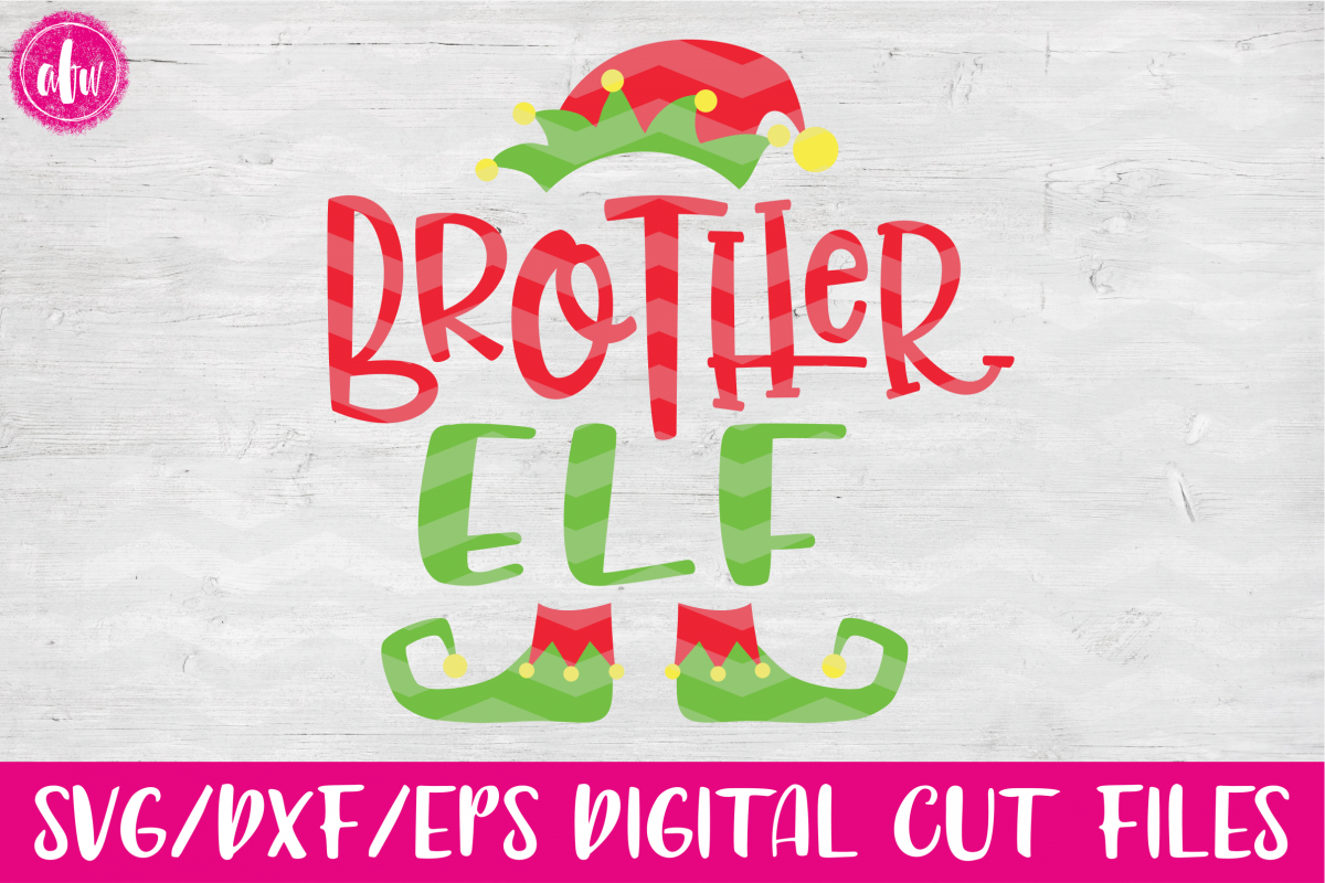 Brother Elf - SVG, DXF, EPS Cut Files example image 1