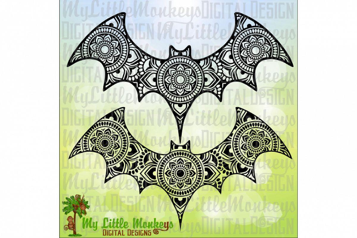 Bat Mandala example image 1