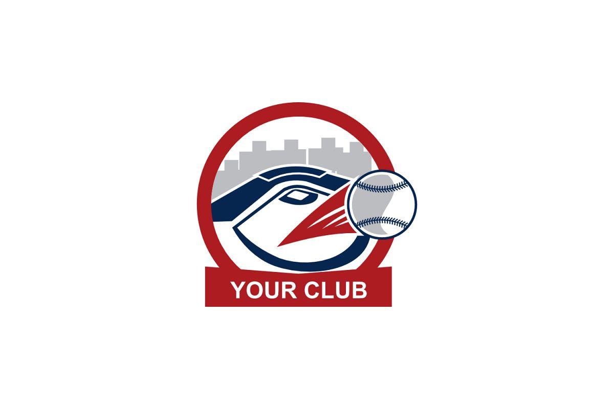 baseball club logo example image 1