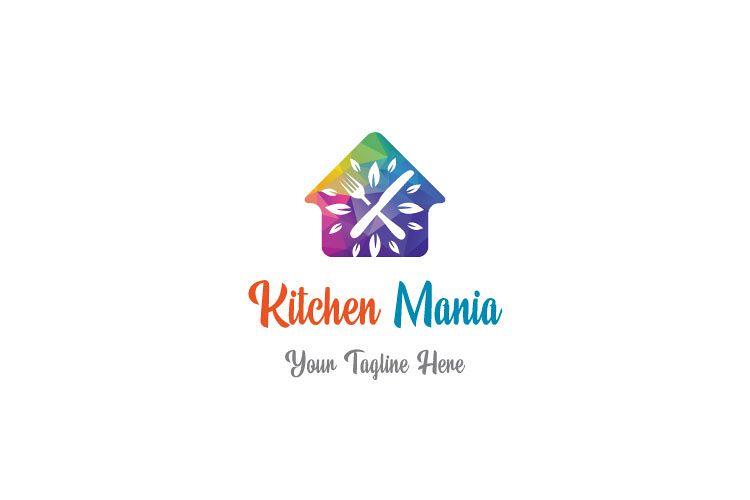 Hut Shape Kitchen Logo example image 1